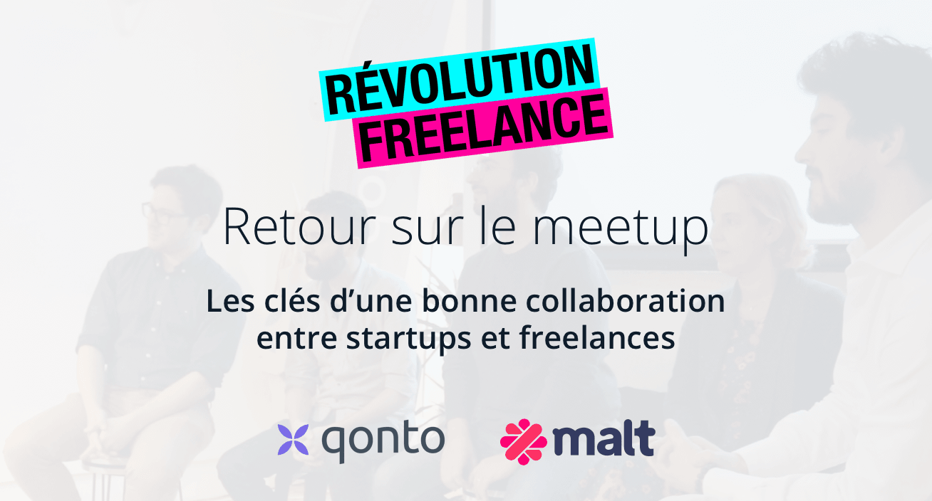 Meetup Qonto pour startups et freelances